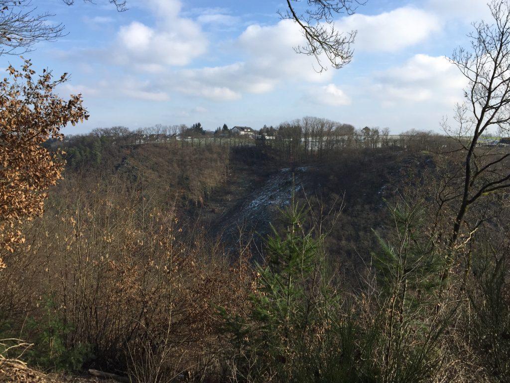 Die Hasenlay im nördlichen Bereich des Turmberges