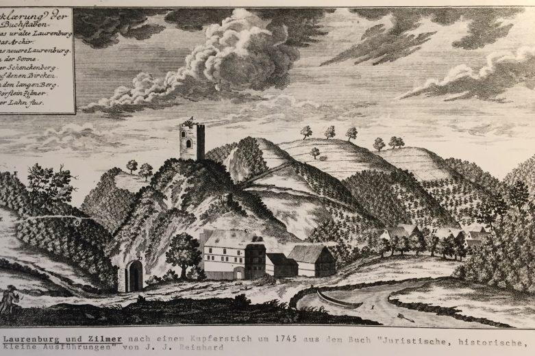 Kupferstich 1745