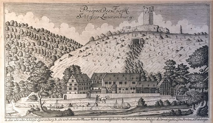Kupferstich 1740