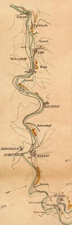 Karte Dahlen, Heinrich Wilhelm, 1885