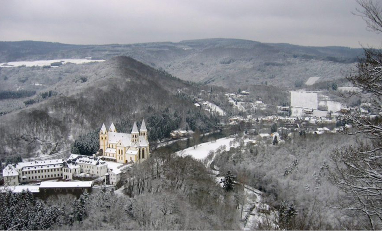 Kloster Arnstein im Winter