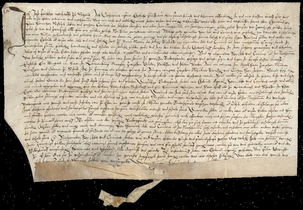 1564 Erwähnung eines Wingerts zu Scheide und Laurenburg