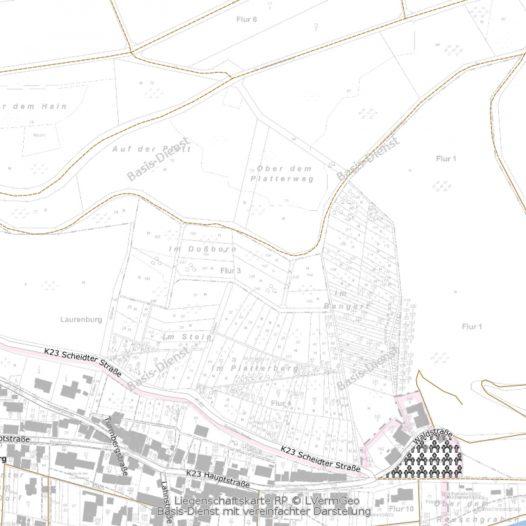 Fluren der Gemeinde Laurenburg