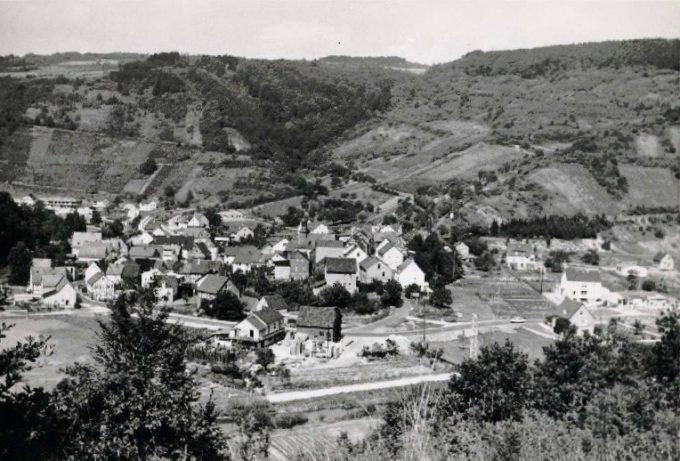 Historische Ortsansicht Weinähr