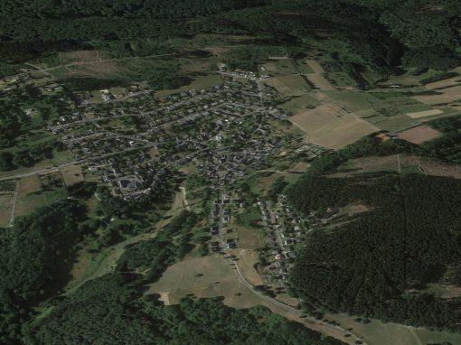 Winden Bildschirmfoto Google Maps