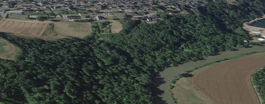 Ausschnitt Altendiez Flur 7 Wiesgraben Bildschirmfoto Google Maps