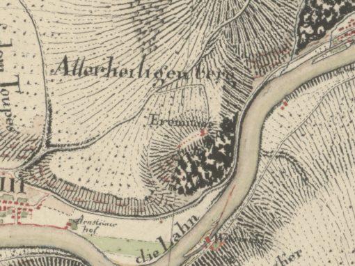 Ausschnitt Niederlahnstein / Allerheiligenberg