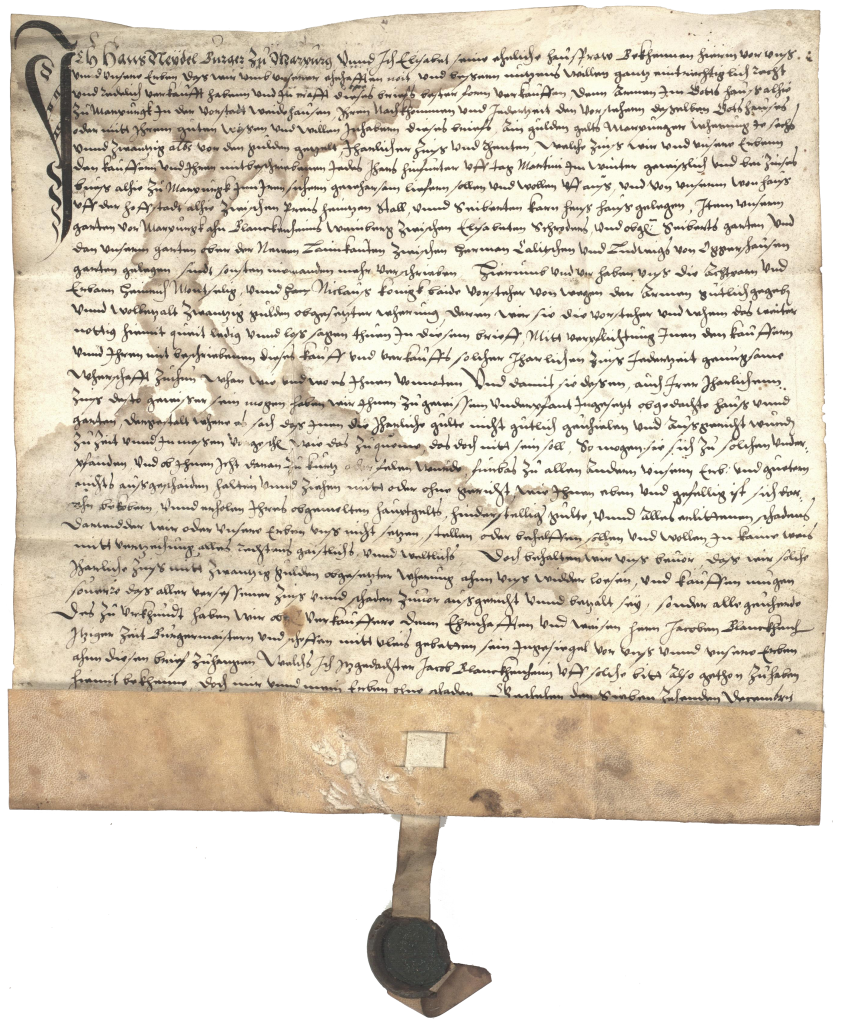 StadtA MR Bestand Urkunden Nr. 1573 Dezember 17